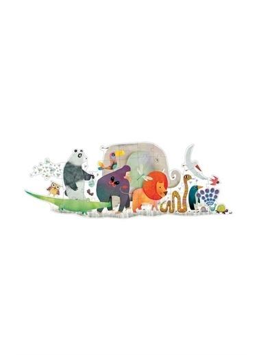 Djeco Djeco Dev Puzzle 36 Parça/ Animal Parade Pembe